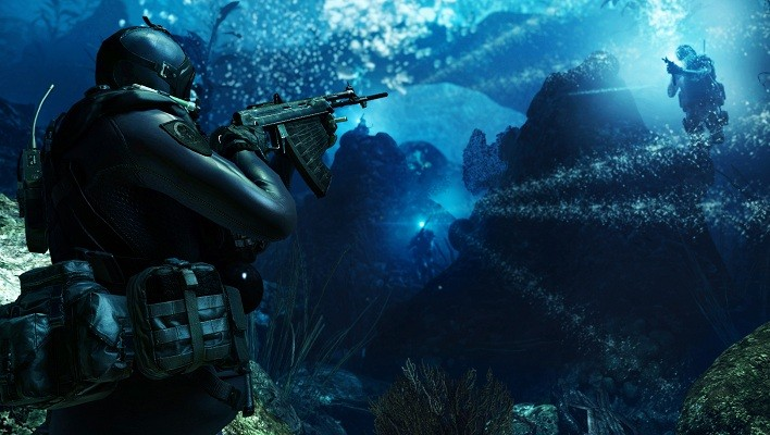 COD Ghosts_Underwater Ambush