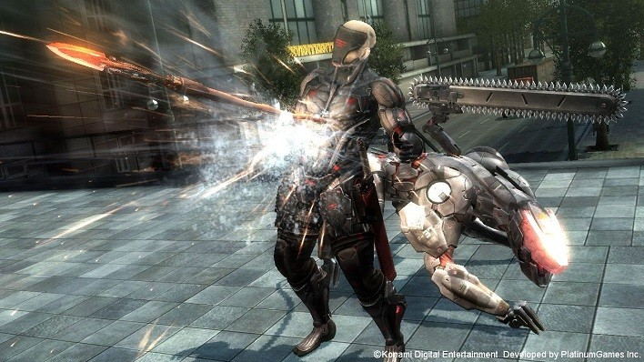 Metal Gear Rising Revengeance Blade Wolf