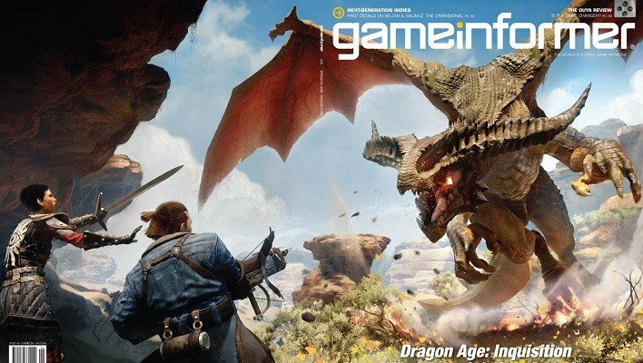 Dragon Age Inquisition GameInformer