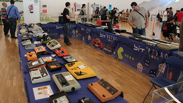 Exposición consolas Retrobarcelona