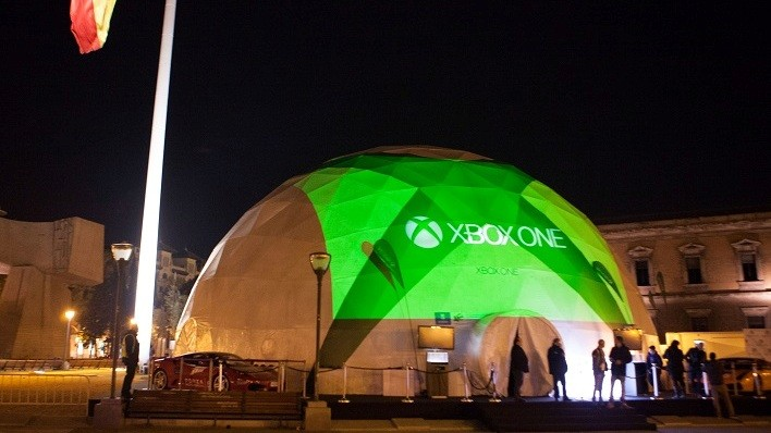 FOTOS_EVENTO_XBOX_Xbox One Experience - cupula geodesica