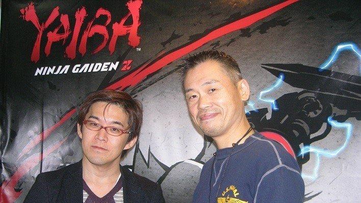 Yaiba NGZ evento Inafune y hayashi san 1