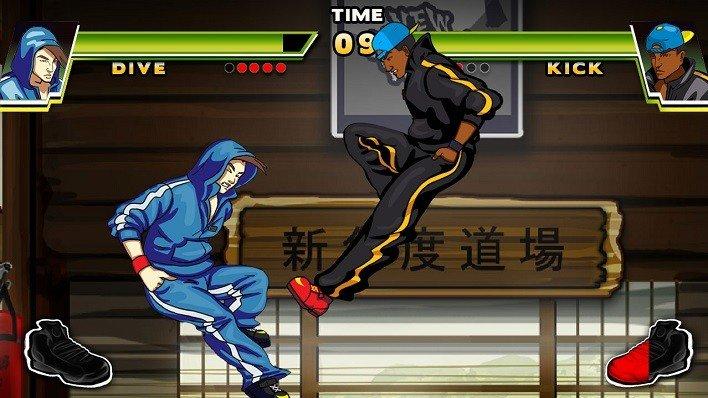 dive-kick