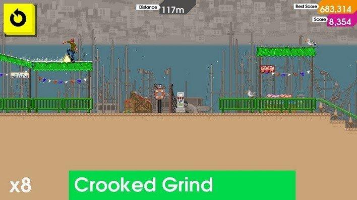 OlliOlliPort Crooked Grind