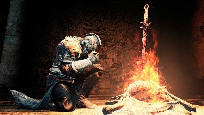 Las hogueras en Dark Souls 2