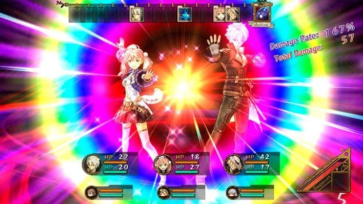 El combate de Escha & Logy es una maravilla