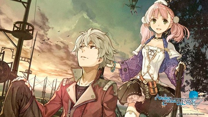 Escha & Logy Alchemists of Dusk Sky