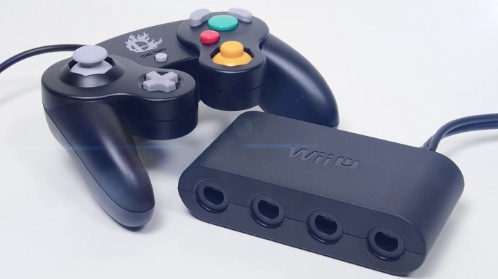 GameCube adapter for Wii U