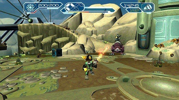Ratchet & Clank Trilogy HD Vita