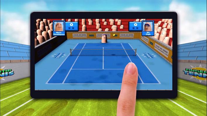 Fingertips Tennis