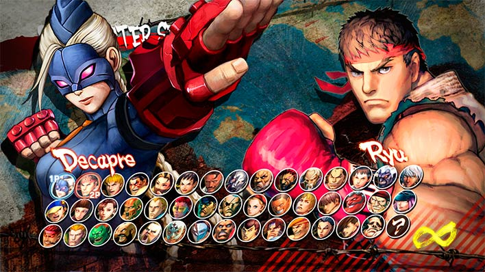 Ultra Street Fighter 4 Characters Roster