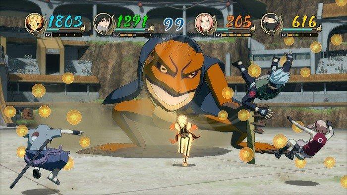 naruto revolution 04 combate torneo
