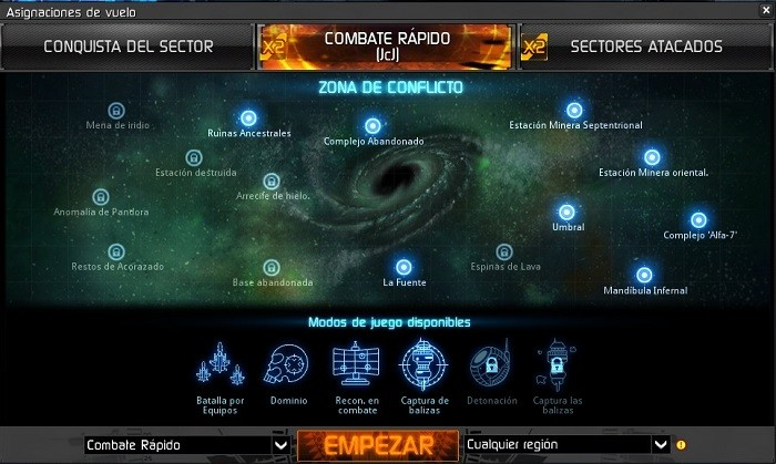 star conflict 07 modos de juego