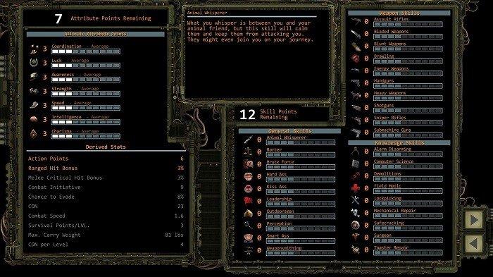 wasteland2 04 habilidades