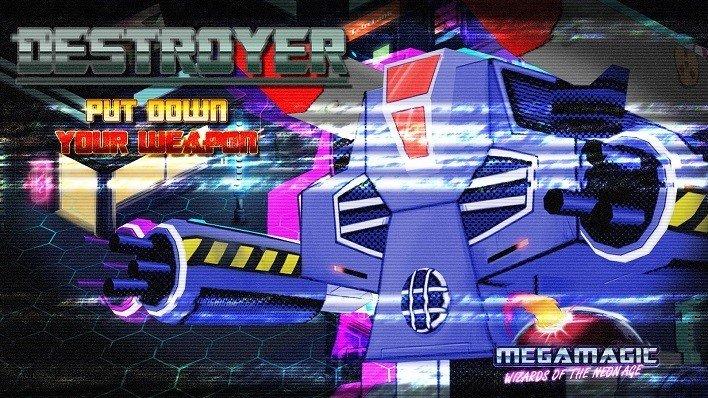Megamagic Destroyer presentación