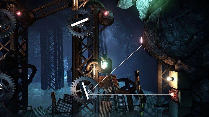 El objetivo de Unmechanical Extended es conseguir escapar de un complejo subterráneo, y para ello tendremos que estrujarnos un poquito los sesos. Suerte que son mecánicos.