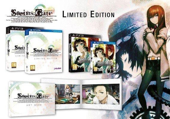 Steins;Gate contenido limited edition