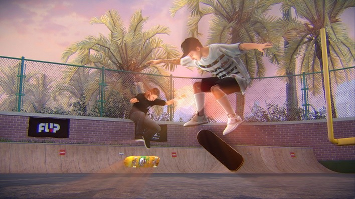 Tony Hawk Pro Skater 5_School_Riley_Nyjah_Flip