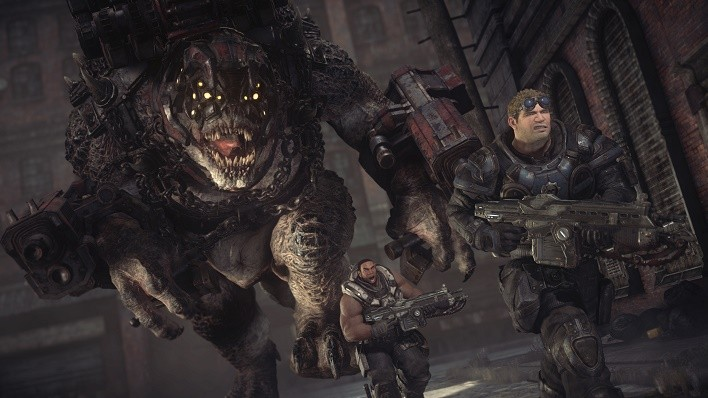 Gears of War Ultimate Edition brumak-xbox-one