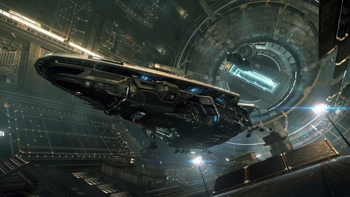 Elite Dangerous Starport_Anaconda