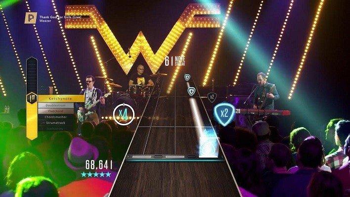 weezer guitar hero live