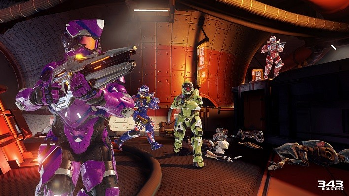 Halo 5 Guardians Warzone Firefight Swarm