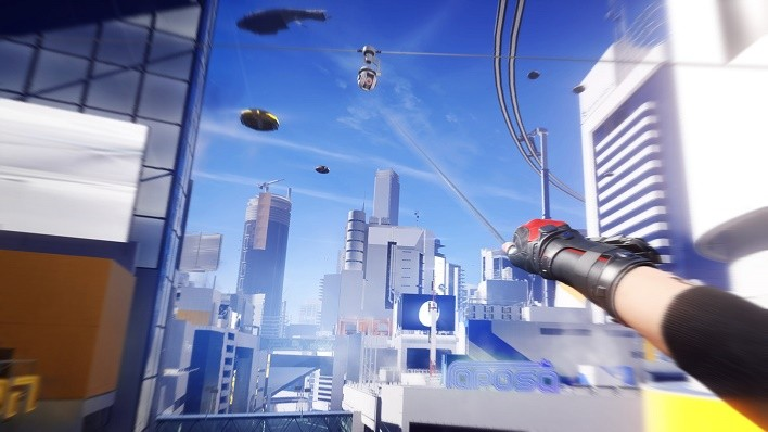 Mirror's Edge Catalyst MAG Rope device screenshot