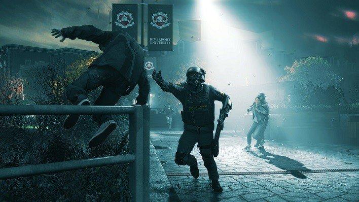 Quantum Break Xbox One stutter scene