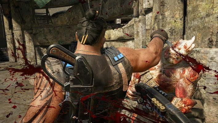 Gears of War 4 Oscar_Knife_Execution