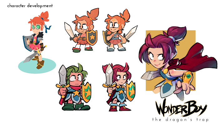 Wonder Boy The Dragon´s Trap
