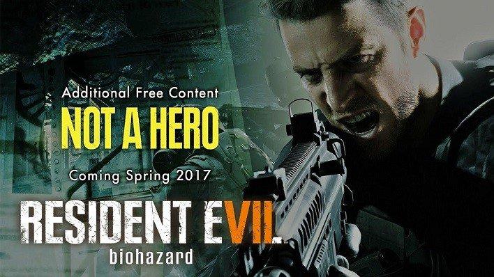 Not a Hero Resident Evil VII
