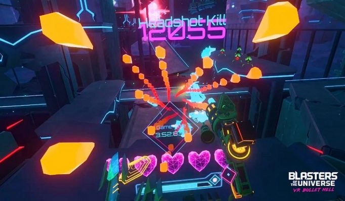 Blasters of the Universe: VR Bullet Hell