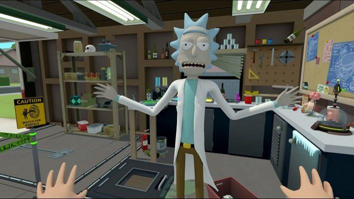 Rick & Morty Virtual Rick-Ality