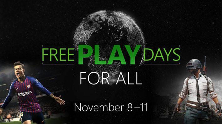 Dias de juegos gratis