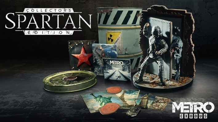 Metro Exodus Spartan Collector Edition