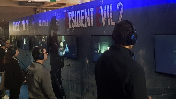 Resident Evil 2 Barcelona Games World