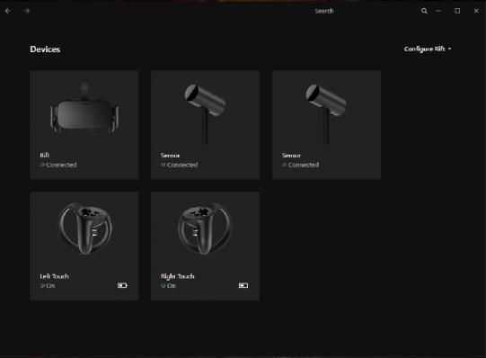 Setup Oculus Rift