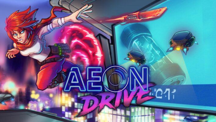 Impresiones de la alfa de Aeon Drive. Speedrunning y plataformas por la Barcelona Cyberpunk del futuro