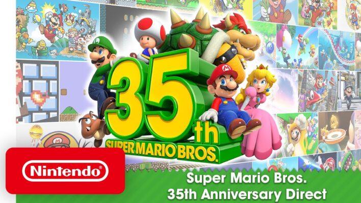 Mario 35 Anniversary
