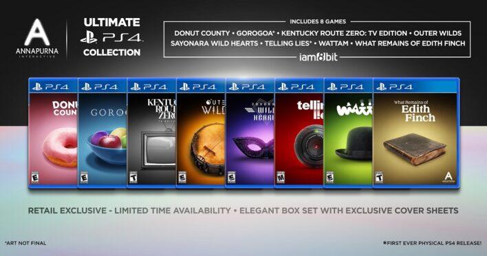 Annapurna Interactive Ultimate PS4 Collecion