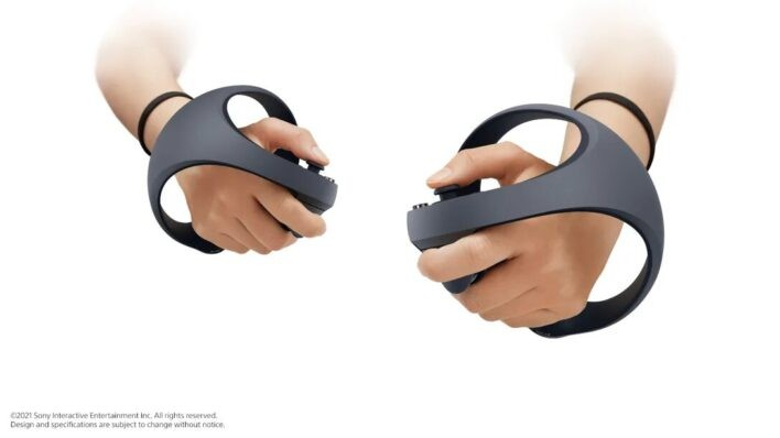 PSVR PS5 Controllers