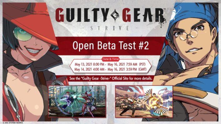 Guilty Gear Strive Second Open Beta