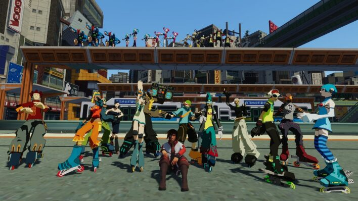 VR Chat Jet Set Radio