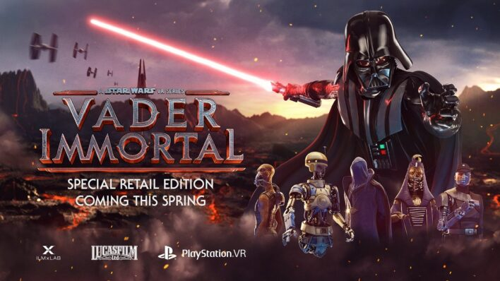 Vader Immortal PSVR Physical