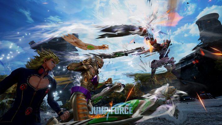 Jump Force Giorno Giovanna