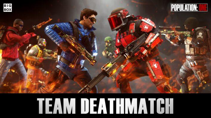 Population One Team Deathmatch