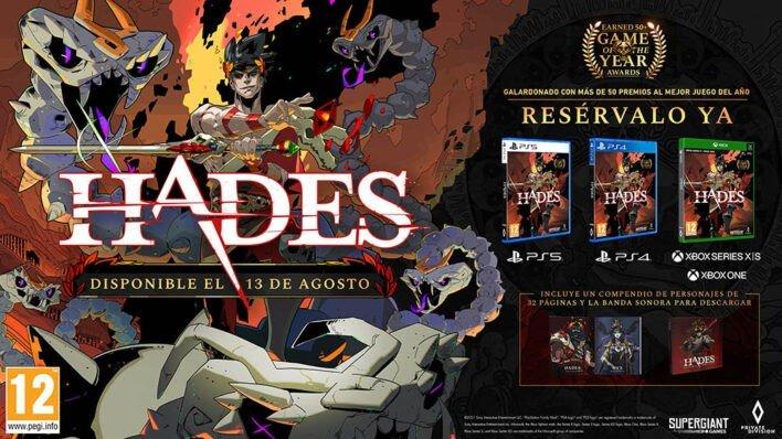 Hades PS4 PS5 Xbox
