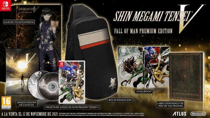 Shin Megami Tensei V Fall of Man Premium Edition