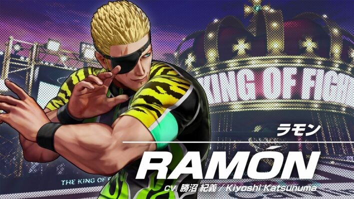 The King of Fighters XV Ramón