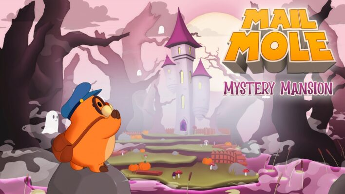Mail Mole Mystery Mansion